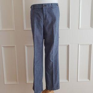 Banana Republic Blue Cotton Pants
